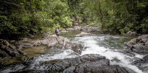Camp David Dschungel Expidition Dreharbeiten