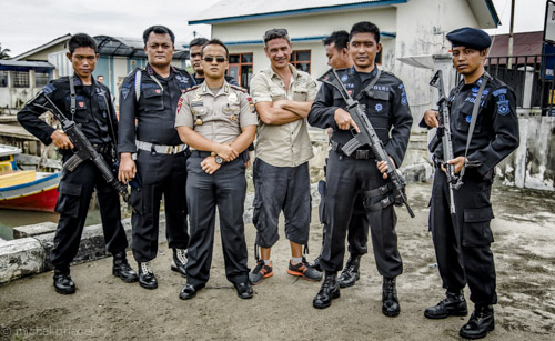 Cam David Expidition Belitung Police Squad