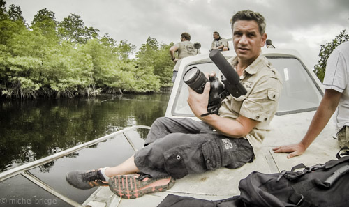Camp David Indonesien Expidition Krokodil Safari 2 Michel Briegel