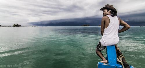 Camp David Indonesien Expidition Sturm Dreharbeiten Michel Briegel